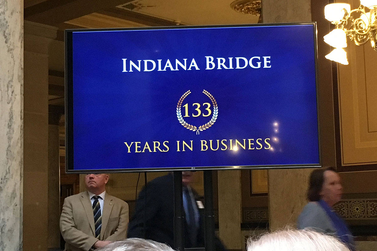 2019 Century Awards, Indiana Bridge